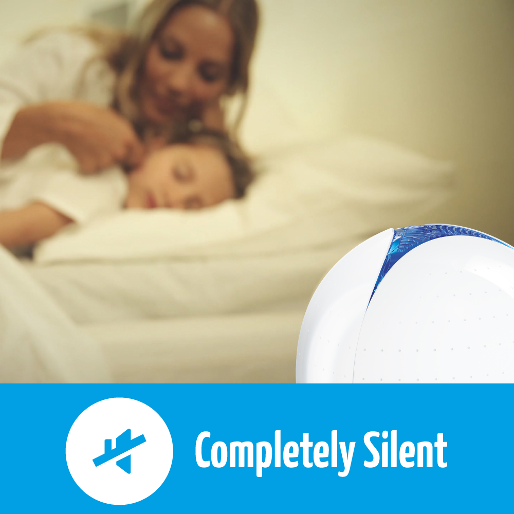 airfree p is completely silent